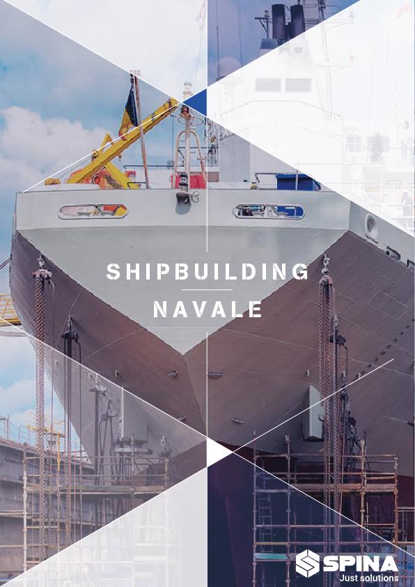 Brochure materiale per cantieri Navali